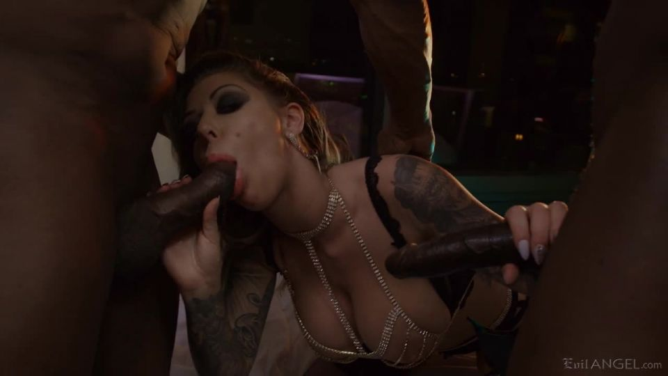 Bad Karma / First Interracial DP (Evil Angel) Screenshot 1