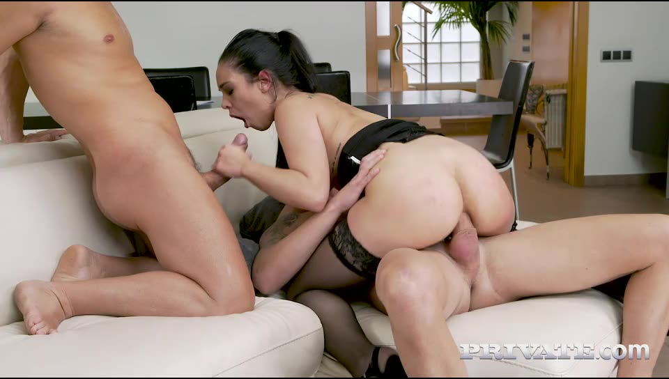 [AnalIntroductions / Private] Horny Maid Eager To Impress - Ginebra Bellucci (DP)/(Tattoo)