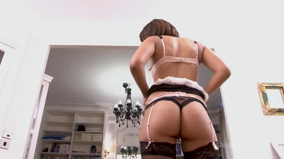 Double Anal Creampies – First Time Ever Anal + DP + DPV + Squirting RA040 (LegalPorno / AnalVids) Screenshot 0