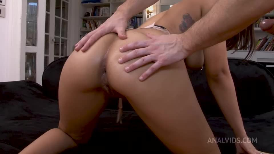 Double Anal Creampies – First Time Ever Anal + DP + DPV + Squirting RA040 (LegalPorno / AnalVids) Screenshot 9