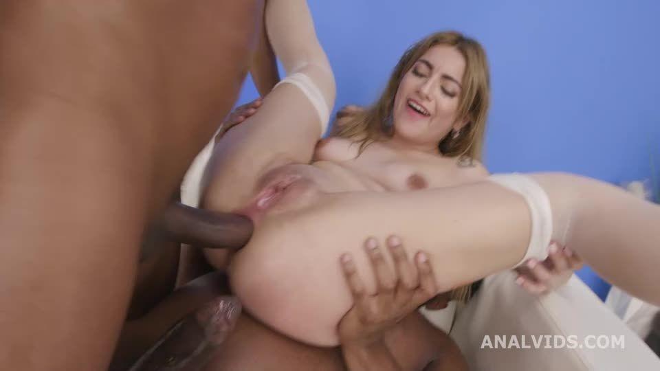 Black Pee, ATM, DAP, Gapes, Almost ButtRose, Pee Drink, Creampie Swallow (LegalPorno / AnalVids) Screenshot 3