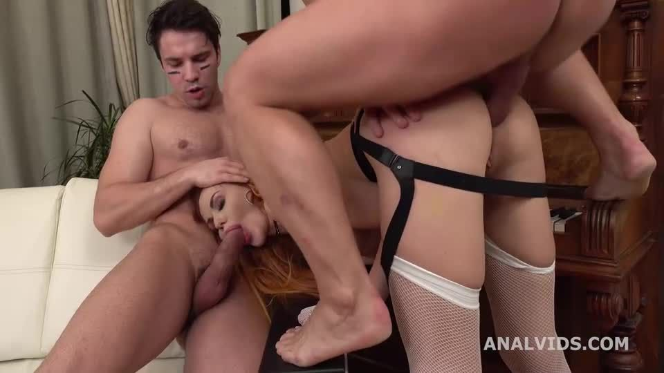 Back for DP with Balls Deep Anal, Gapes and Cum in Mouth (LegalPorno / AnalVids) Screenshot 7