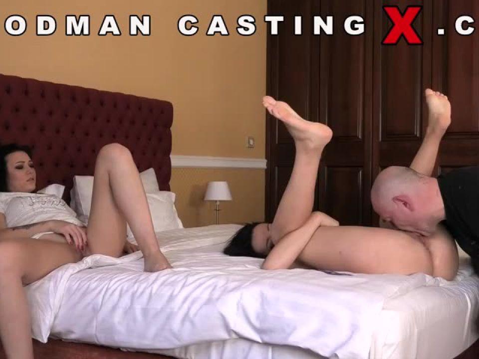 Zee Twins – Casting X 214 (WoodmanCastingX) Screenshot 0