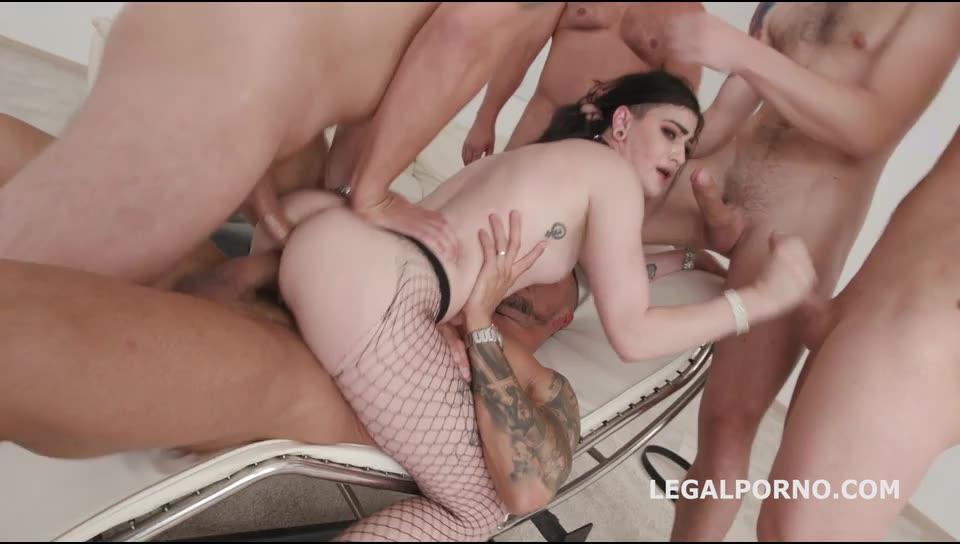 [LegalPorno] Monsters of TAP, All in Balls Deep DAP, TP, TAP, GAPES, Messy Cumshot - Lydia Black (GangBang)/(High Heels)