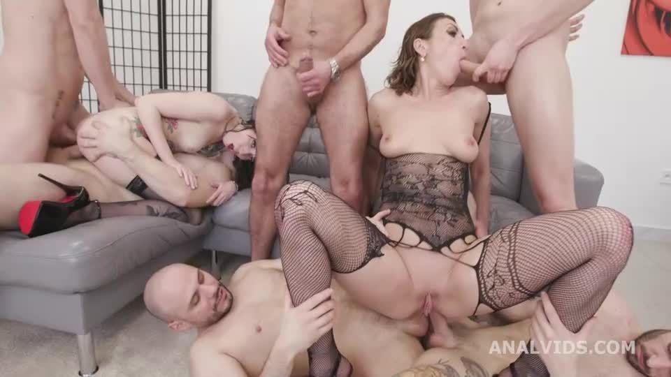 Generation Battle #2 wet, ATOM, DAP, Wrecked Ass, ButtRose, Pee Drink, Squirt, Swallow (LegalPorno / AnalVids) Screenshot 6