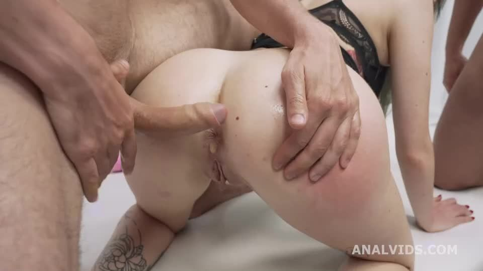 First DP with Outdoor, Balls Deep Anal, DP and Cum in Mouth (LegalPorno) Screenshot 5