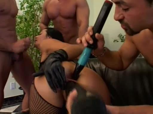[Evil Angel] Euro Angels Hardball 17: Anal Savants - Sandra Romain (GangBang)/(Natural Tits)