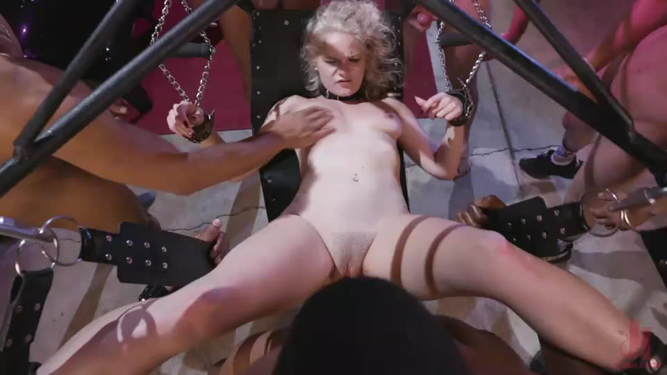 Caged Gangbang Slut: Submissive Lisey Sweet Gets Holes Cracked Open / 42813 (BoundGangBangs / Kink) Cover Image