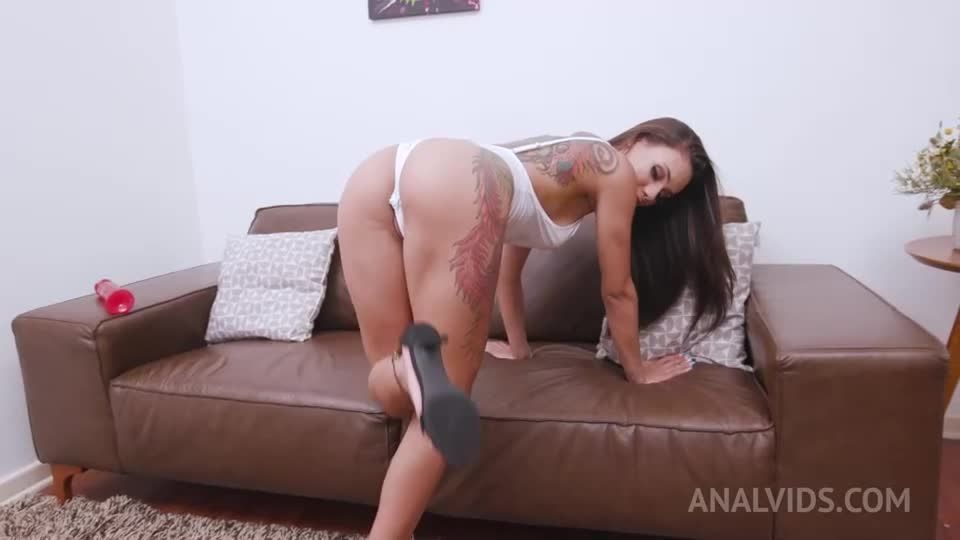 assfucked and DP'ed in threesome with 2 BBC YE020 (LegalPorno / AnalVids) Screenshot 0