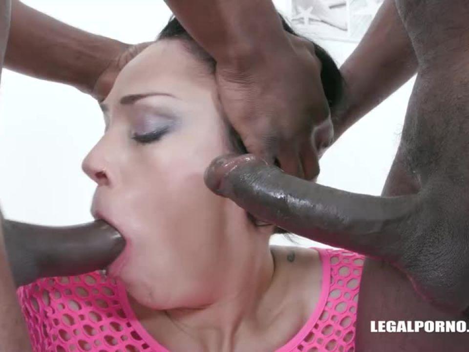 Enjoys black cocks (LegalPorno) Screenshot 1