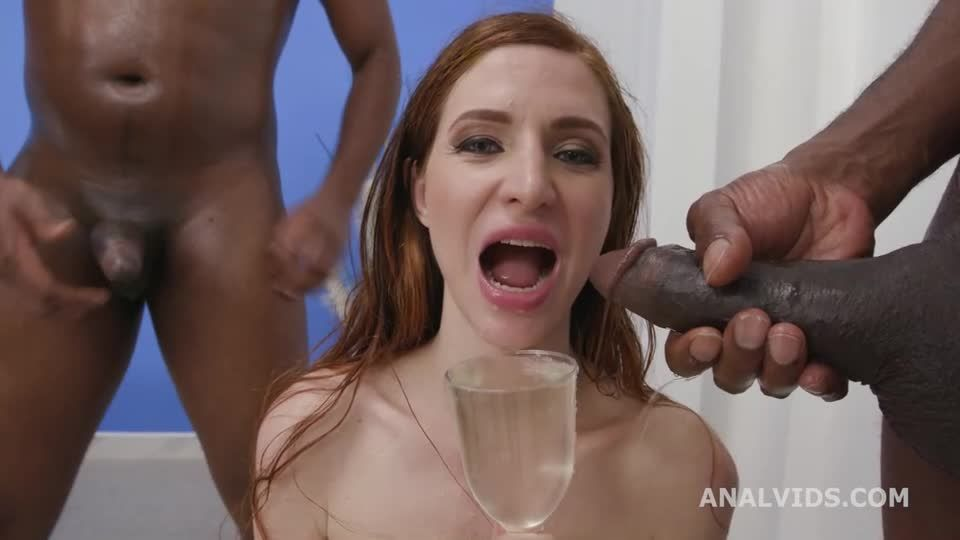 Black Pee, BBC, ATM, Balls Deep Anal, DAP, Gapes, Pee Drink, Creampie Swallow, Cum in Mouth (LegalPorno / AnalVids) Screenshot 6