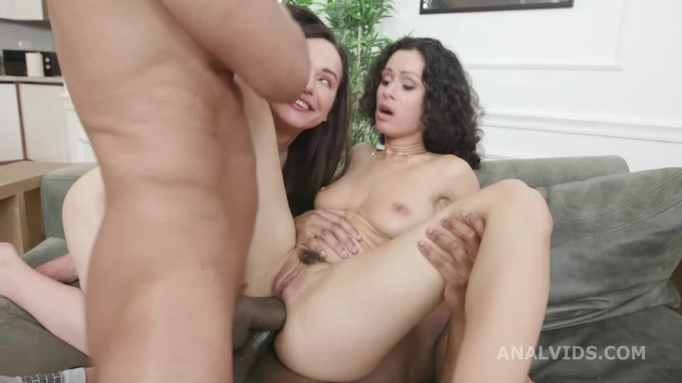 [LegalPorno] DAP and Roses, Balls Deep Anal, Self Anal Fisting, Gapes, ButtRose and Creampie Swallow - Stacy Bloom, Nataly Gold (DAP)/(2M2F)