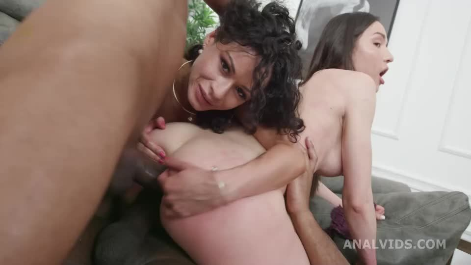 DAP and Roses, Balls Deep Anal, Self Anal Fisting, Gapes, ButtRose and Creampie Swallow (LegalPorno) Screenshot 4