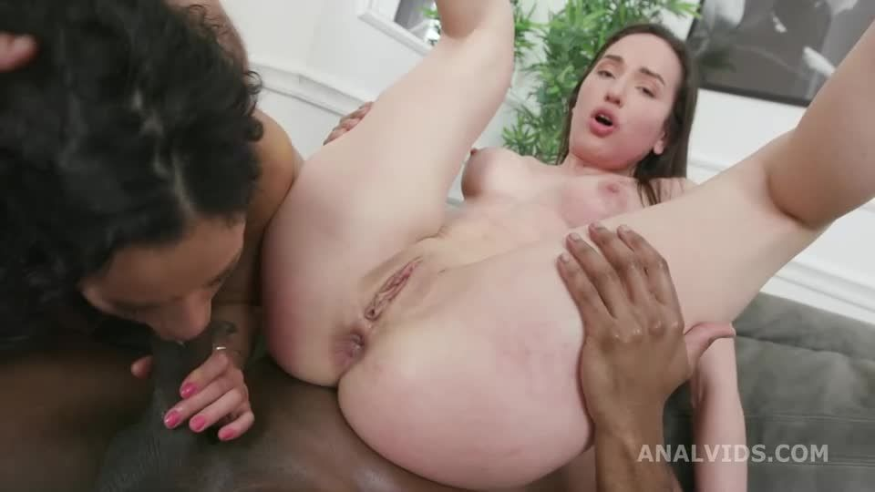 DAP and Roses, Balls Deep Anal, Self Anal Fisting, Gapes, ButtRose and Creampie Swallow (LegalPorno) Screenshot 7