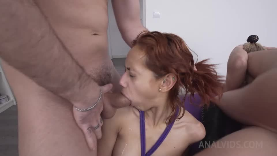 Assfucked together in a small home orgy OTS164 (LegalPorno / AnalVids) Screenshot 7
