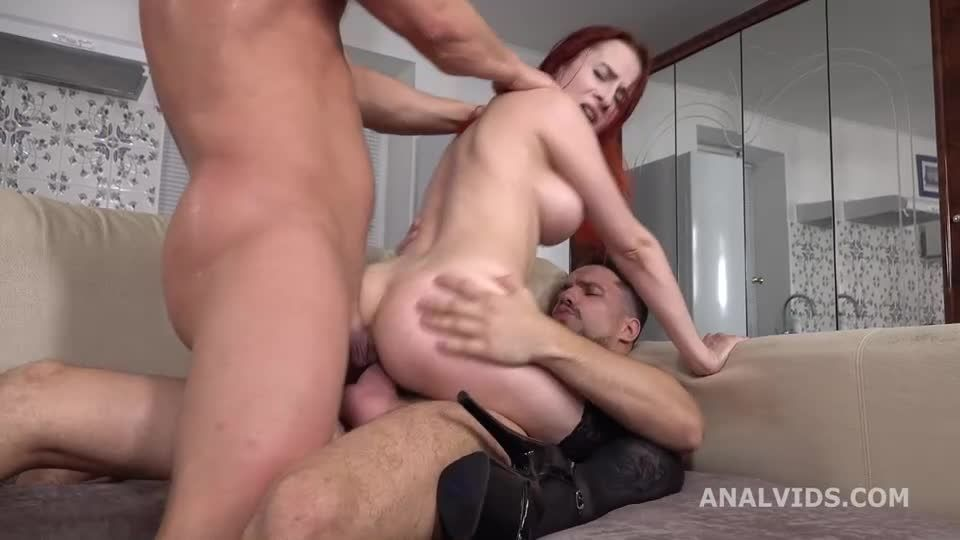 My first DP, first time DP with Balls Deep Anal, Gapes and Cum in Mouth (LegalPorno) Screenshot 5