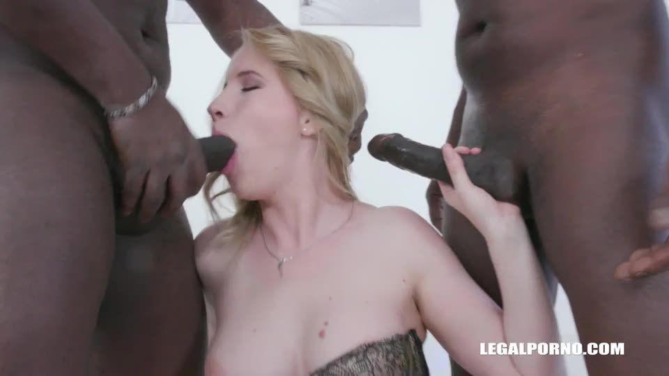 Enjoys black feeling balls deep (LegalPorno) Screenshot 1