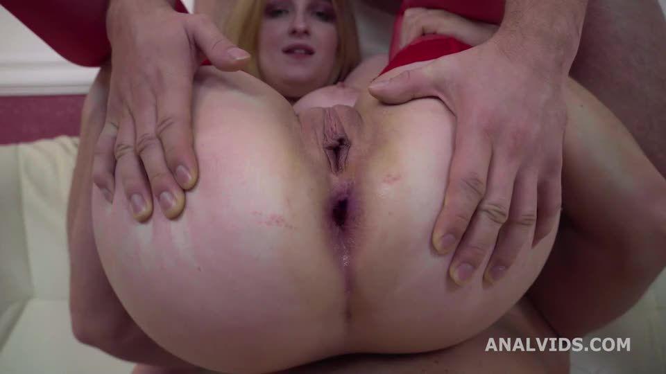 My first DP goes Wet, Balls Deep Anal, DP, Gapes, Pee and Facial (LegalPorno / AnalVids) Screenshot 6