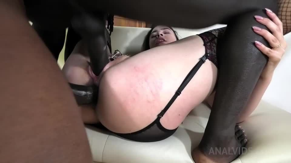 First time BBC double penetration with Bondage, Balls deep, BDSM NF022 (LegalPorno) Screenshot 4
