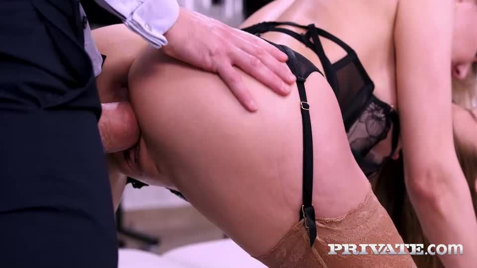 Boss And Employee Celebrate With DP Orgy (AnalIntroductions / Private) Screenshot 2