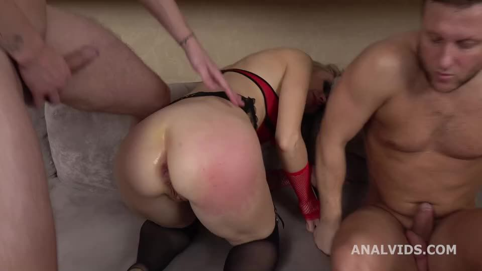 My First DP, Balls Deep Anal, Gapes and Cum in Mouth (LegalPorno / AnalVids) Screenshot 7