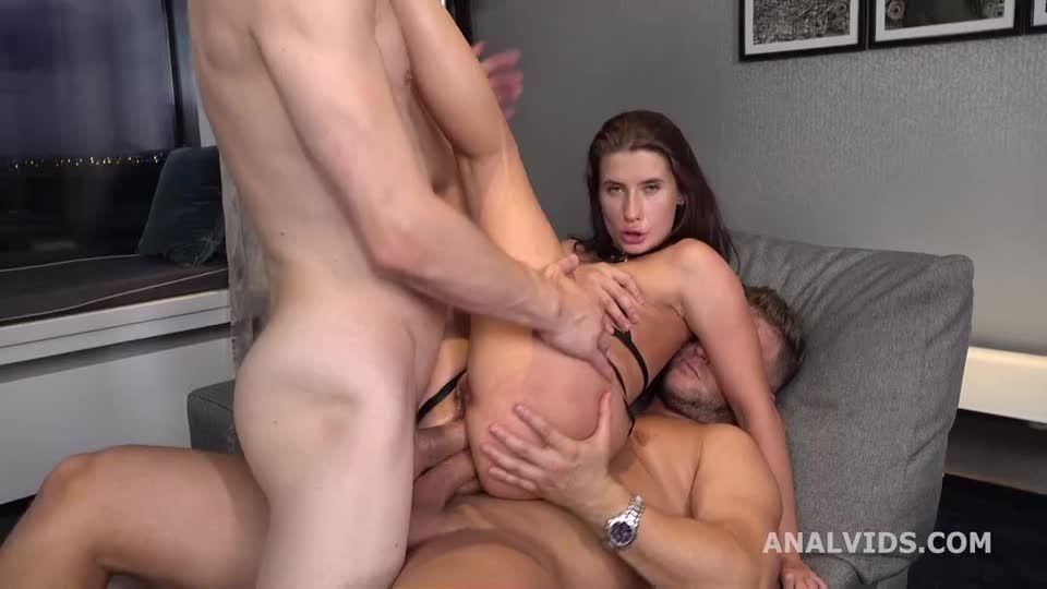 Balls Deep Anal, DAP, Big Gapes and Cum on Open Asshole (LegalPorno / AnalVids) Screenshot 4