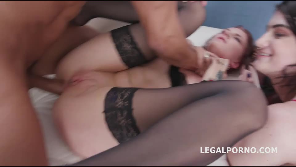 [LegalPorno] Domination, Submission, Squirt To Mouth, Balls Deep Anal, ATOGM, Gapes, DAP - Bree Haze, Lydia Black (DAP)/(Redhead)