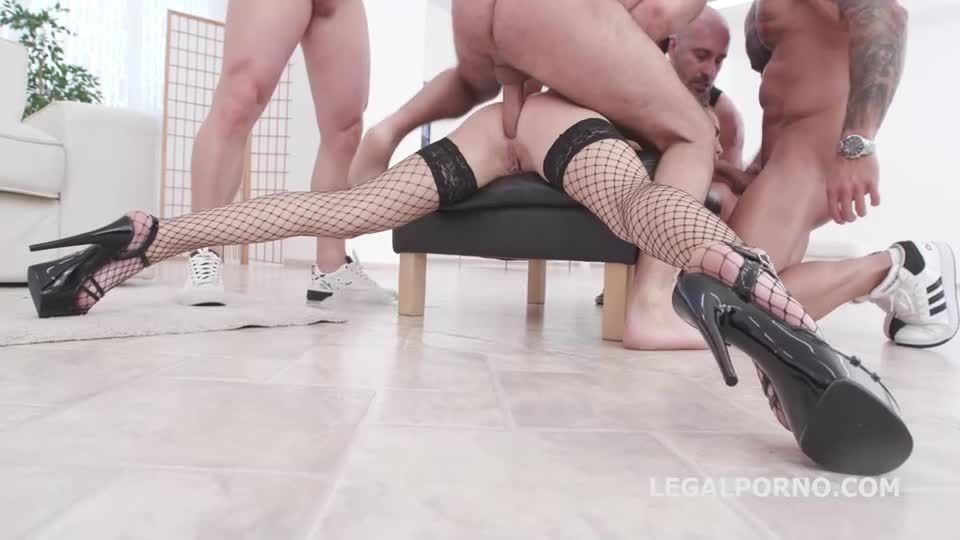 Manhandle, Rough Sex Balls Deep Anal, Gapes, DAP and Facial (LegalPorno) Screenshot 8