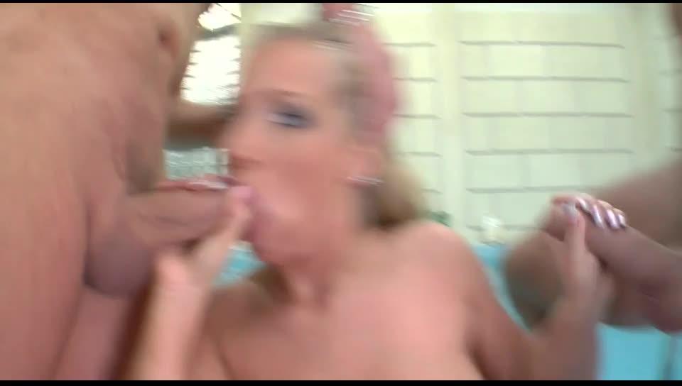 [Jules Jordan / Asstraffic] Big Rack Attack 2 – Kyra Banks (DP)/(Blonde)