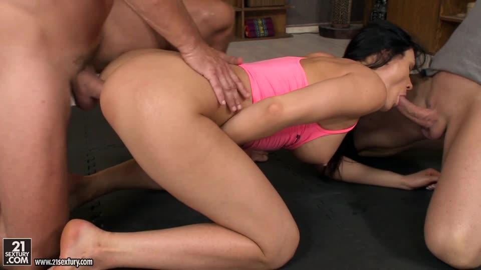 Flexible Yoga Instructor (DPFanatics / 21Sextury) Cover Image