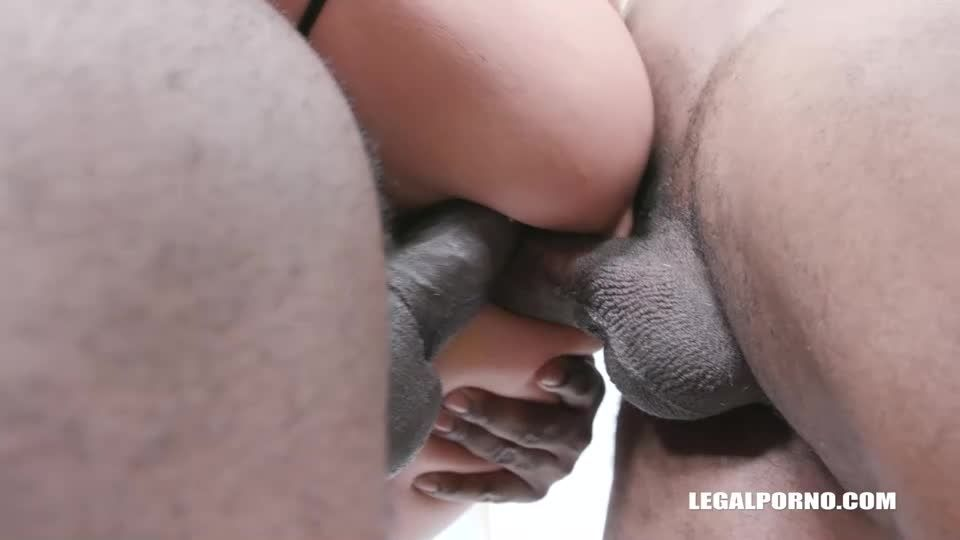Discovers black feeling and takes 2 BBC in the ass balls deep (LegalPorno) Screenshot 8
