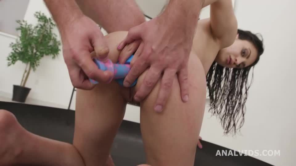 Basined, Balls Deep Anal, DP, DAP, Squirting, Tons of Pee Drink, Gapes, Almost ButtRose and Swallow (LegalPorno / AnalVids) Screenshot 8