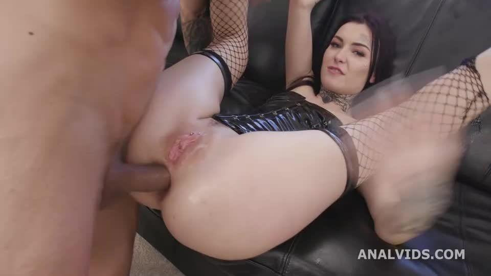 Naked Barefoot, Balls Deep Anal, Gapes, DAP, ATM and Swallow (LegalPorno / AnalVids) Screenshot 2