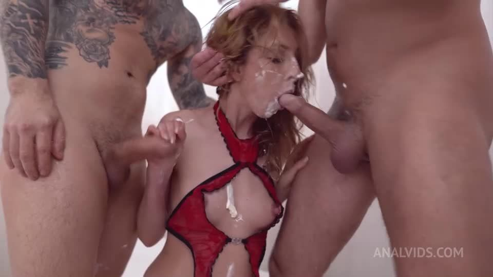 Humiliation, piss, DAP, deepthroat, anal, cum swallow, Rough Anal, gapes NF064 (LegalPorno / AnalVids) Screenshot 2