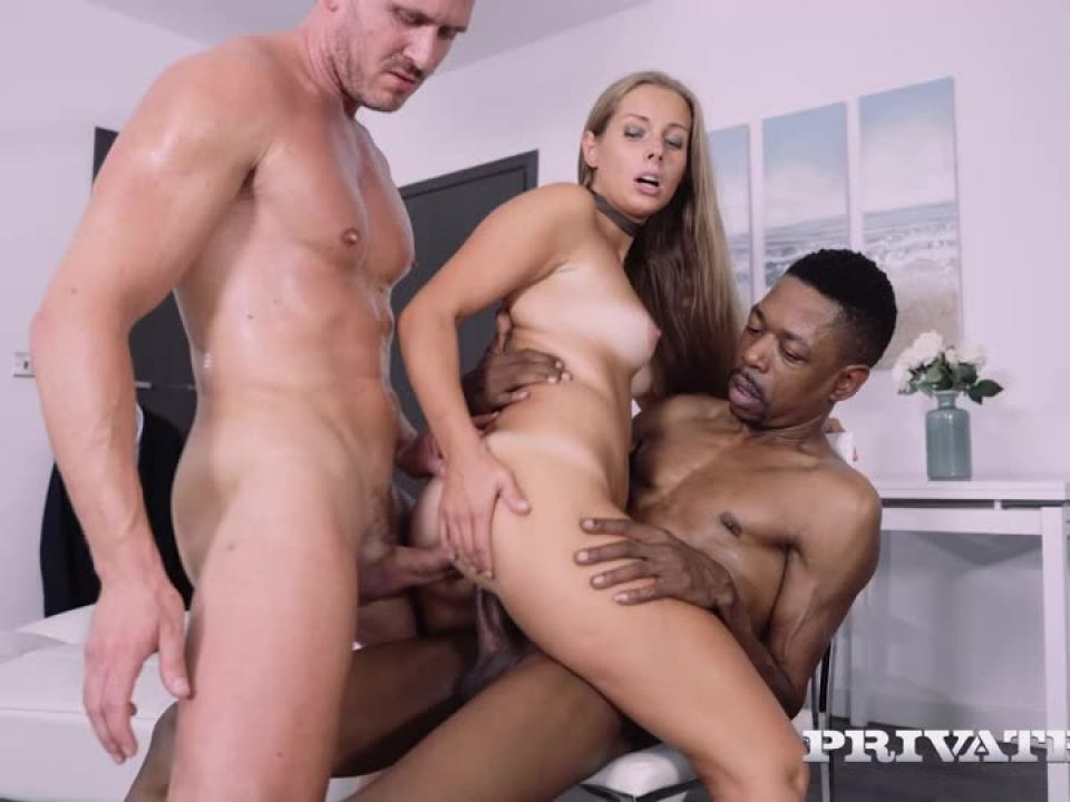 Debuts With Interracial DP (BlacksOnSluts / Private) Screenshot 0