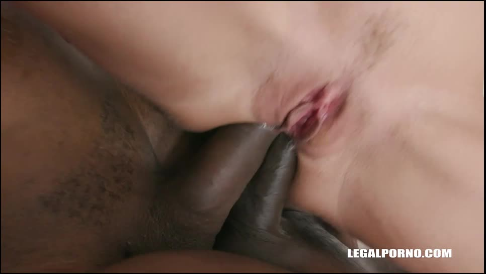 Interracial gangbang with double anal (LegalPorno) Cover Image
