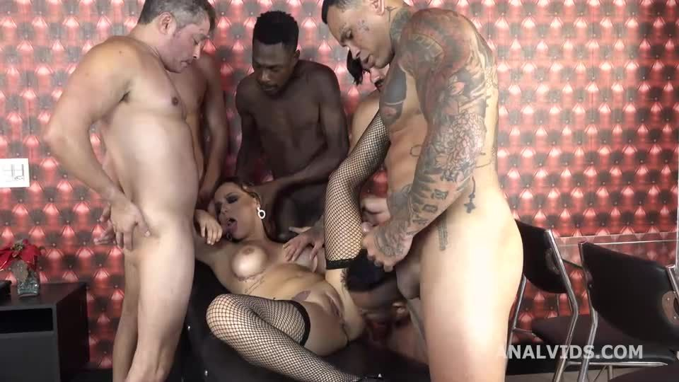 Balls Deep Anal, DP, DAP, pee and cum in mouth (LegalPorno / AnalVids) Screenshot 1