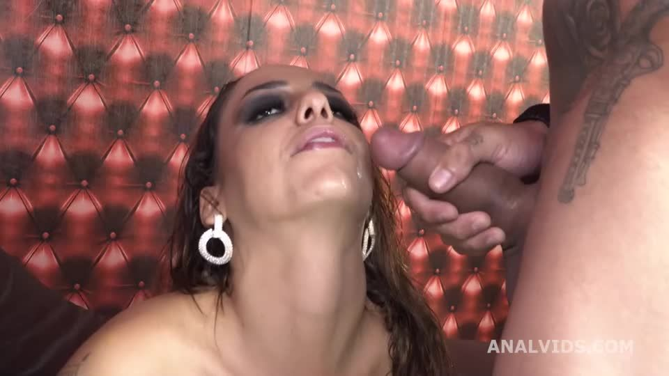 Balls Deep Anal, DP, DAP, pee and cum in mouth (LegalPorno / AnalVids) Screenshot 9