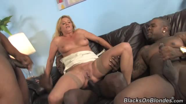 [BlacksOnBlondes / DogFartNetwork] Double Penentration - Ginger Lynn (DP)/(3M1F)