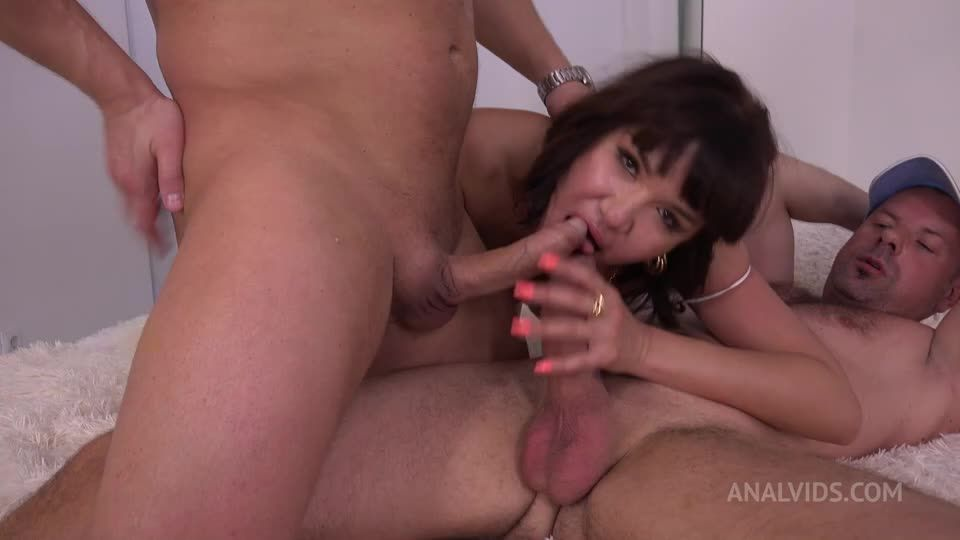 First DP Asian Milf with Gapes and Cum in Mouth MS114 (LegalPorno / AnalVids) Screenshot 5