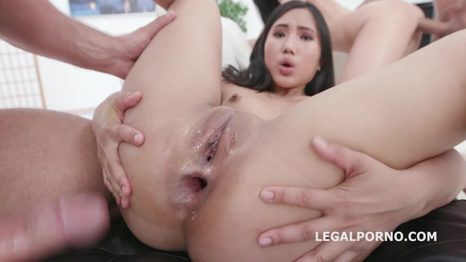 May Thai is Back 1, Balls Deep Anal, DAP, Gapes, Creampie Swallow (LegalPorno) Screenshot 3