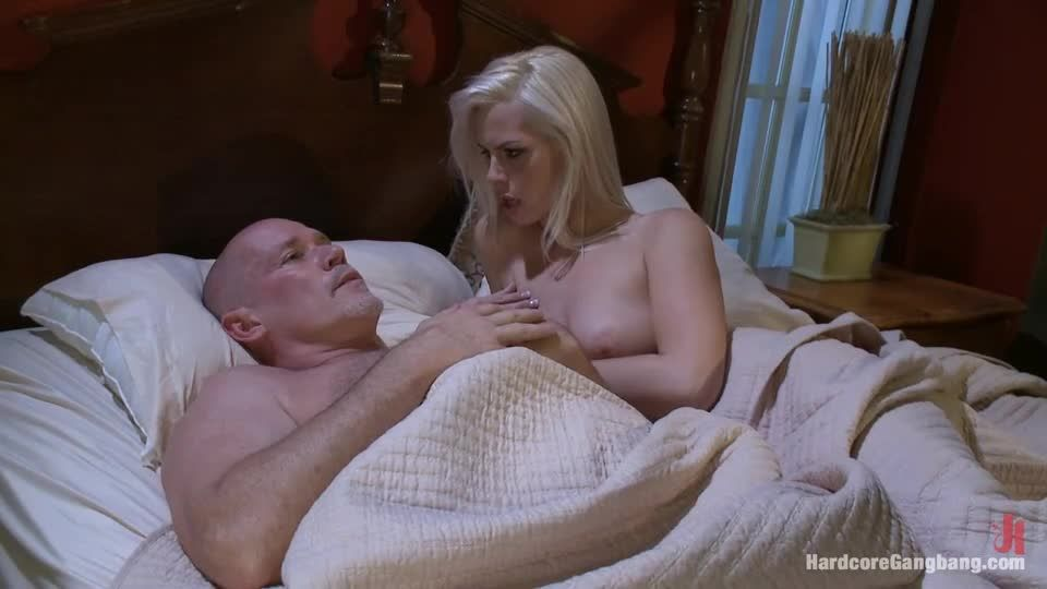 Beautiful Blonde gets set up by Boyfriend with Five Cocks (HardcoreGangbang / Kink) Screenshot 1