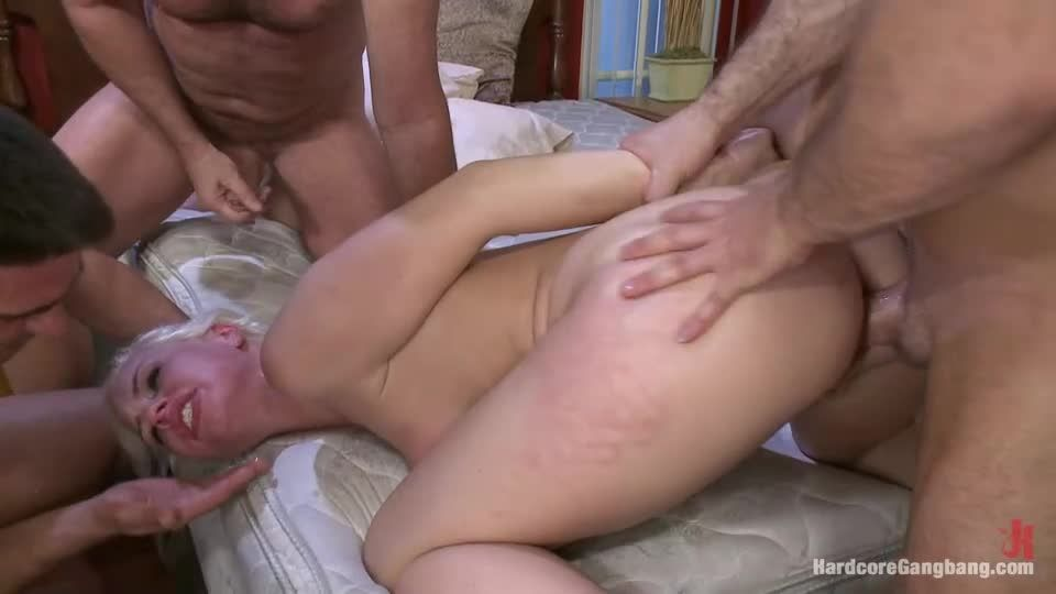 Beautiful Blonde gets set up by Boyfriend with Five Cocks (HardcoreGangbang / Kink) Screenshot 5