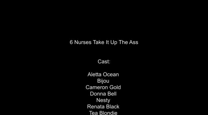 Private Specials 12: 6 Nurses Take it Up the Ass (Private) Screenshot 9