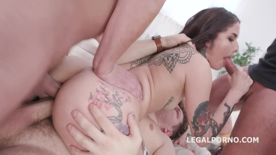 [LegalPorno] DAP Destination, First Time DAP with Balls Deep Anal, DAP, Gapes and Facial - Vanessa Vega (DAP)/(Natural Tits)