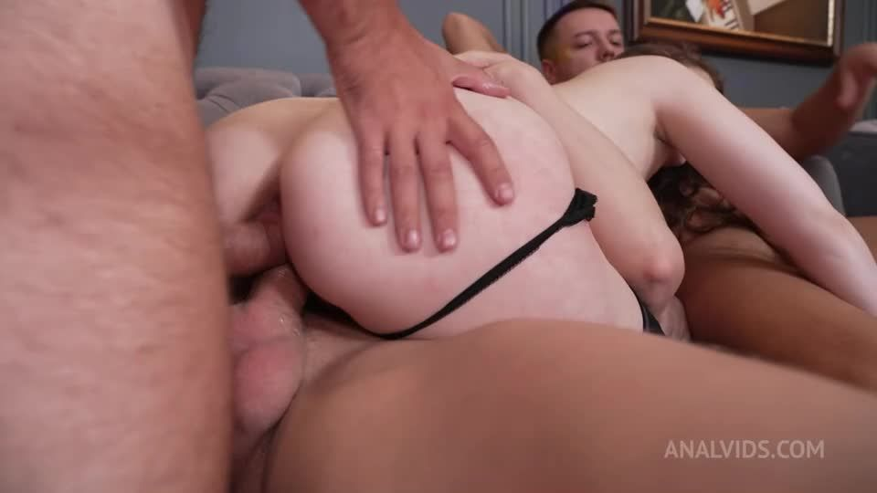 Real Orgasm and First Double Vaginal Penetration With 4 Guys NRX137 (LegalPorno / AnalVids) Screenshot 4