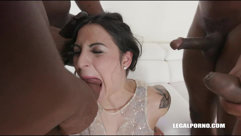 [LegalPorno] Back for another black treatment with two cocks in the ass - Stacy Sommer (GangBang)/(Tattoo)