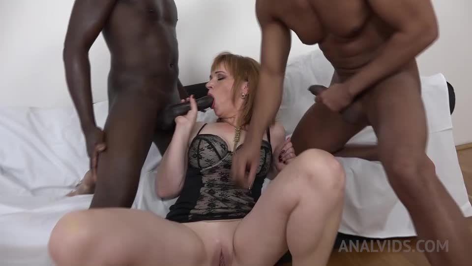 Kinky interracial DP KS085 (LegalPorno) Screenshot 4
