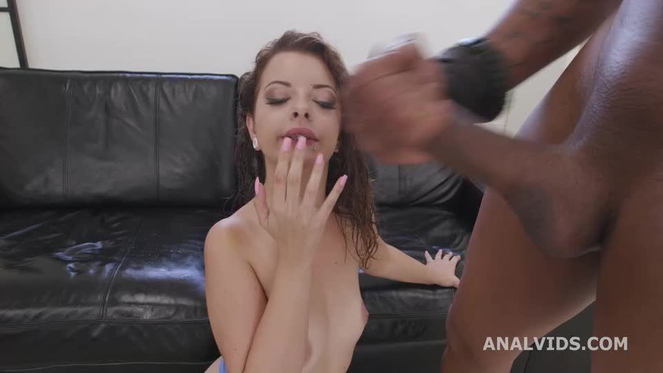 DAP and Fist, BBC, Anal Fisting, DAP, Wrecked Ass, Squirt Drink, Creampie Swallow, Cum in Mouth (LegalPorno / AnalVids) Screenshot 9