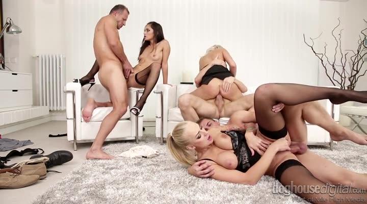 [DogHouseDigital] Swingers Orgies 11 - Shrima Malati, Kayla Green, Katy Rose (Orgy)/(Natural Tits)